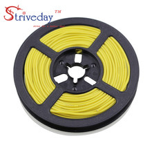 20 meters (65.6ft) 24AWG high temperature resistance Flexible silicone wire tinned copper wire RC power cord Electronic cable цена 2017