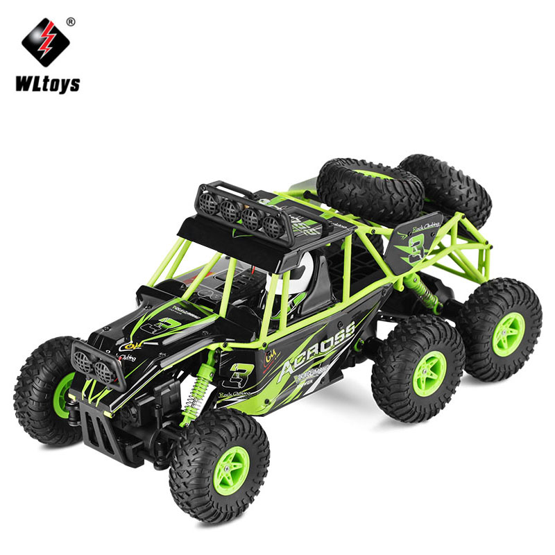 Wltoys 18628 Remote Control cars 1:18 2.4G 6WD Electric RC Car Model Off-Road Rock Crawler Climbing RC Buggy Car RTR Boy Toys mini rc car 1 28 2 4g off road remote control frequencies toy for wltoys k989 racing cars kid children gifts fj88