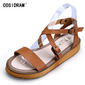 Gladiator Women Sandals Summer Women Shoes Platform Ladies Sandalias Mujer Peep Toe Beach Shoes Plus Size 41 42  43 SNE-483