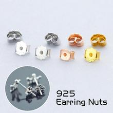 2 Pairs Women Simple Stud Earrings Fashion Ear Nuts Gold Silver Women Fine Jewelry Acessories Gift For Women Z30
