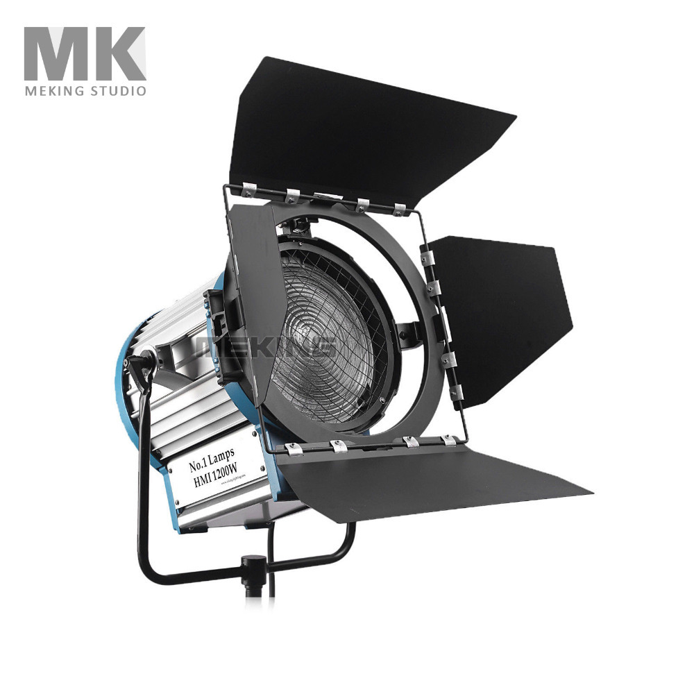 Pro NO.1 HMI Fresnel Light 1200W Photography photo Studio Video Continuous Lighting Kit