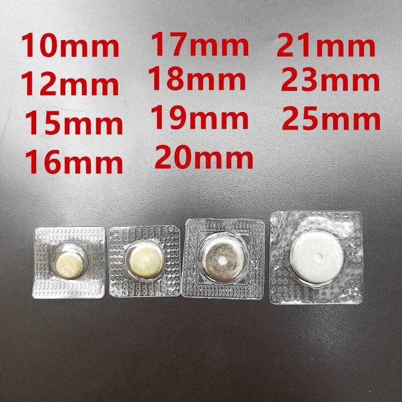 10 шт невидимые Скрытая шить металлические магнитные кнопки оснастки магнит застежка для сумки ткань застежка для сумки DIY Швейные Инструме...