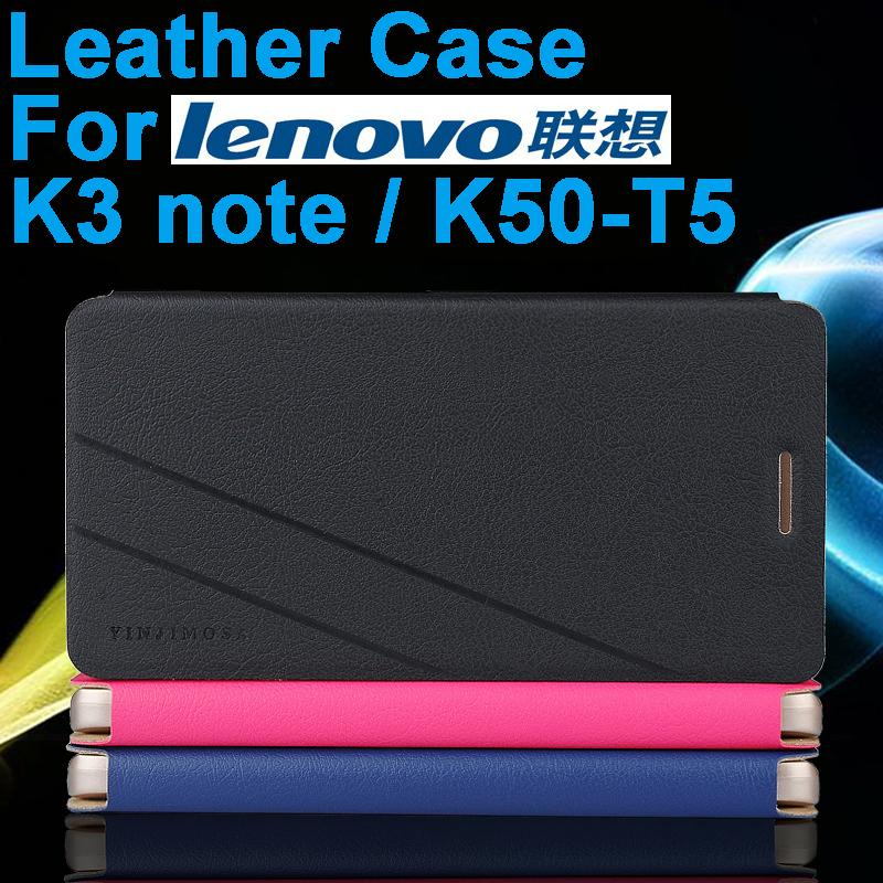 Italy High Quality New Original for Lenovo K3 note K50-T5 Leather Case Flip Cover For Lenovo K3 note K50 T5 Case Phone Cover