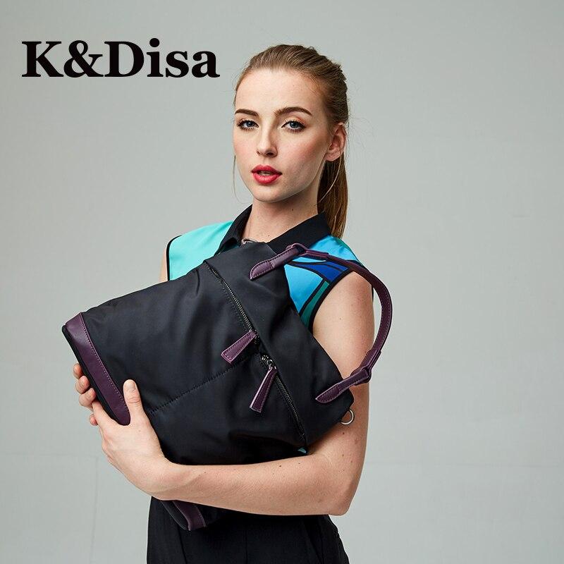 2018 Women's Oxford Bag New Fresh Female Versatile Canvas Messenger Bag Fashion Ladies Casual Solid Soft Shoulder Tote Bag