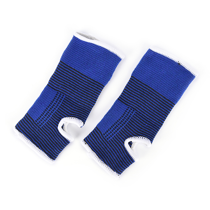 2 Pcs Bandage Brace Support Protection Ankle Foot Elastic Compression Wrap Sleeve Smoothing Circulation And Stopping Pains Sports Accessories