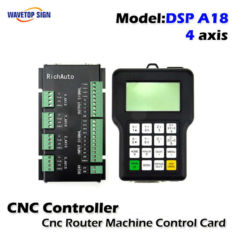 все цены на DSP A18s dsp a18 Four-axis Linkage Motion Control System Cnc DSP Cnc Router Machine Control Card Cnc Rourter Mainboard онлайн