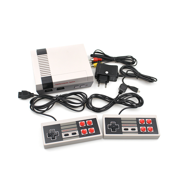 HDMI/AV Output Mini TV Handheld Retro Video Game Console For Nes Games with 500 & 600 Built-in Games With Video Game Player