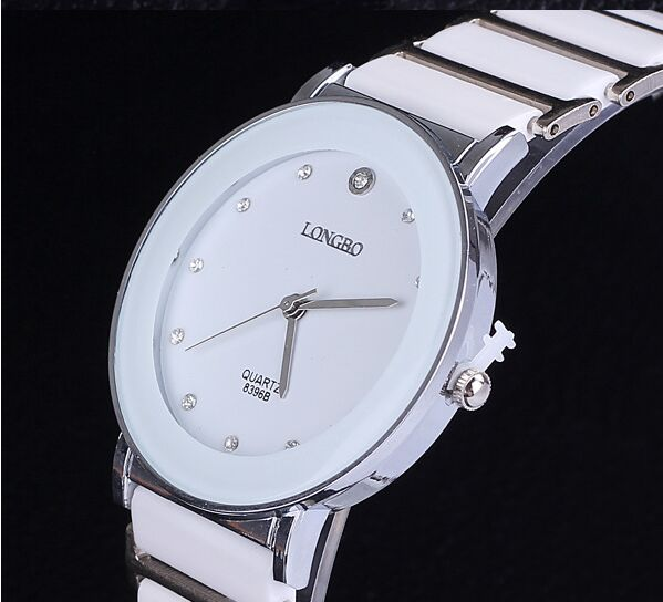Longbo Brand Fashion & Rhinestone nádherný Dárkové keramické - Pánské hodinky