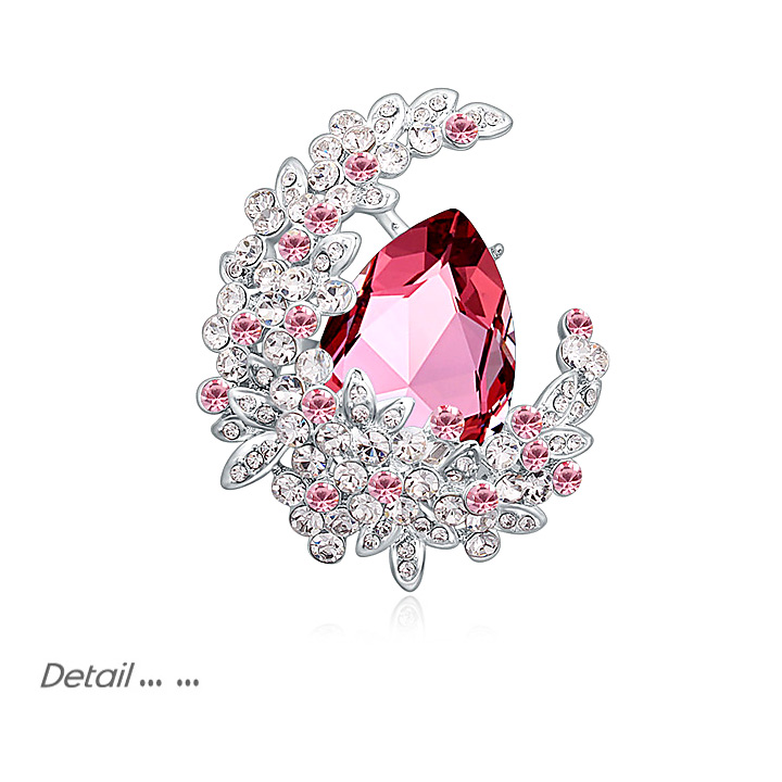 meilleure valeur caractéristiques exceptionnelles meilleure valeur US $20.14 30% OFF|Luxury Crystal from Swarovski Brooch Pins For Women Top  Quality Flower Broches Jewelry Fashion Wedding Party Bijoux Broche Femme-in  ...