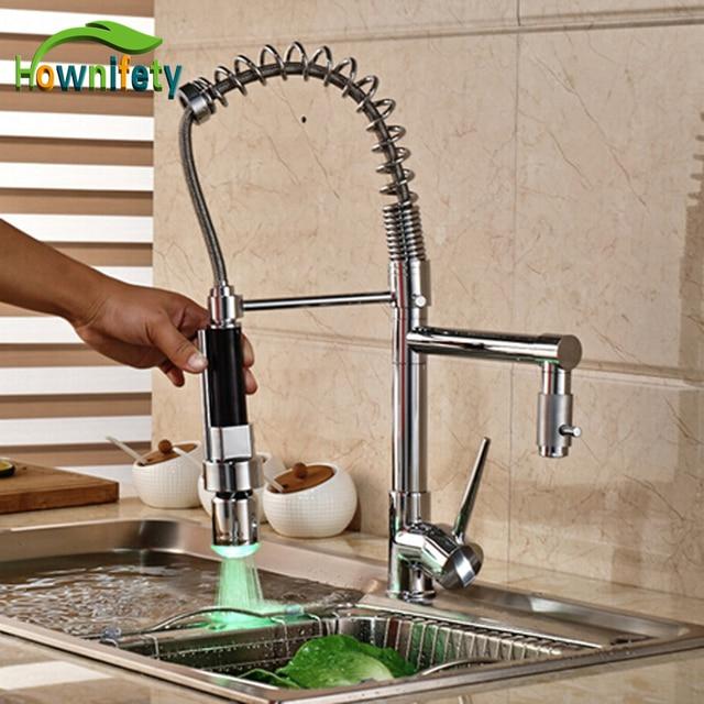 Chrom Küche Zwei Tüllen Waschbecken Wasserhahn Singel Griff ...