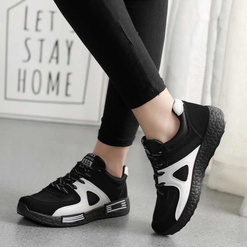 Outdoor sport shoes women sneakers breathable platform sneakers women  running shoes lac up casual shoes woman zapatos de hombre|Running Shoes| -  AliExpress