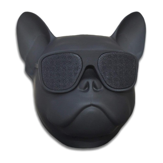 Fashion Wireless Bluetooth Bulldog Head Speakers Sunglass Mobile Subwoofer Multipurpose Portable Loud Speaker TF card player