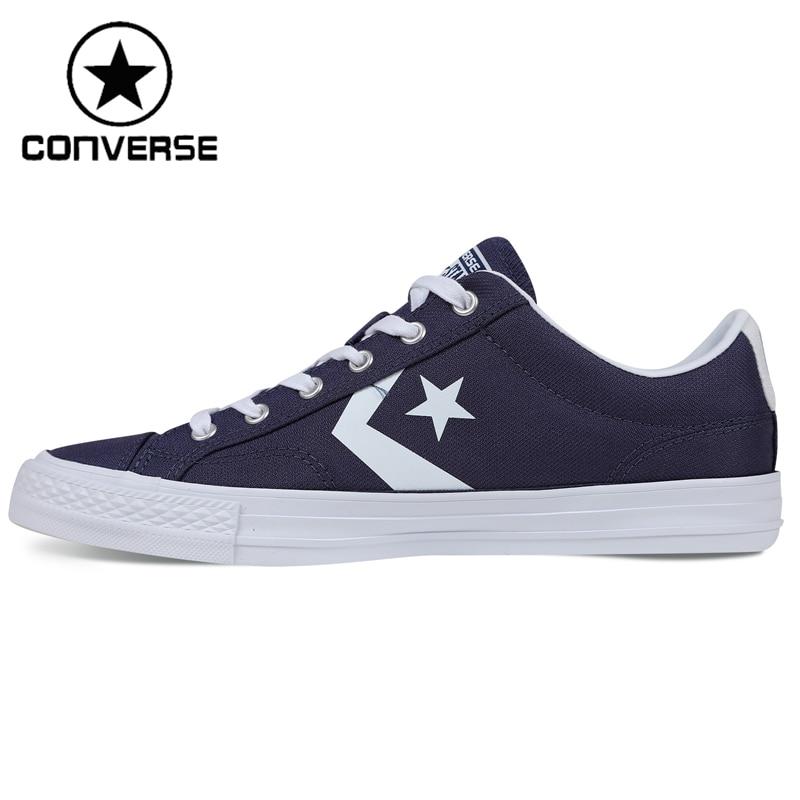 Prix pour Original Nouvelle Arrivée 2017 Converse Star Lecteur Unisexe Planche À Roulettes Chaussures Sneakers