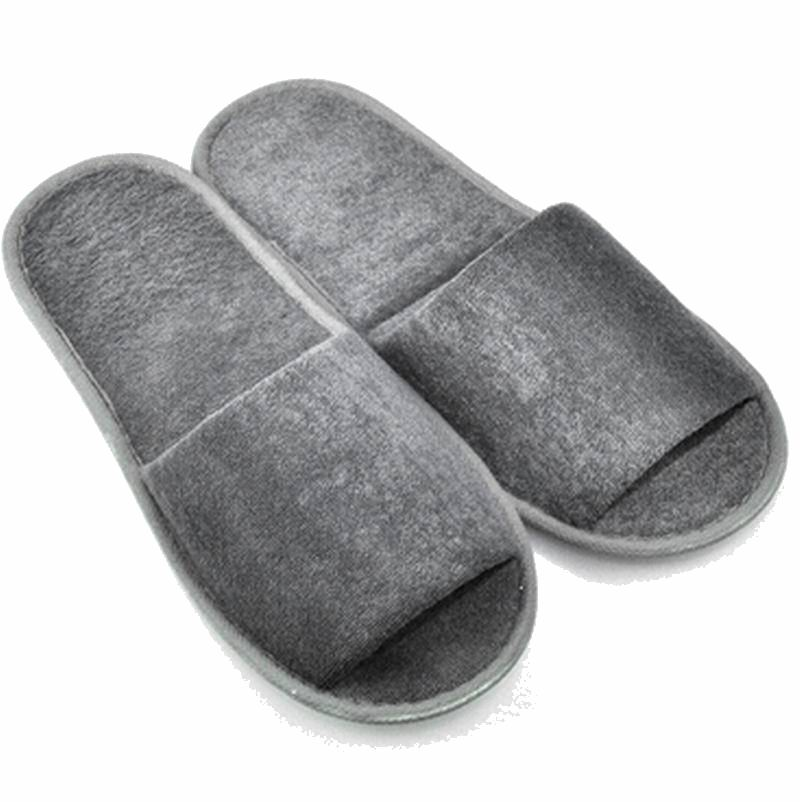 Simple Design Women And Men Traveling Portable Folding Slippers Disposable Slippers Wear In Home Hotel