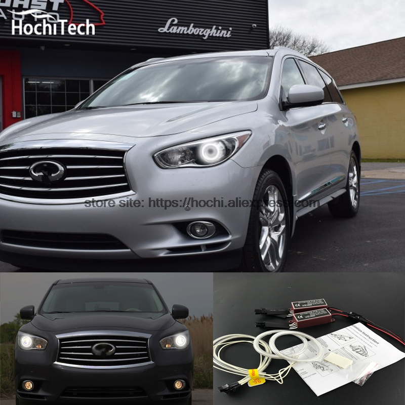 HochiTech Excellent CCFL Angel Eyes Kit Ultra bright headlight illumination for nissan Infiniti JX35 2011 2012 2013 for honda odyssey 4th g rb3 rb4 chassis 2008 present excellent ultrabright headlight illumination ccfl angel eyes kit halo ring