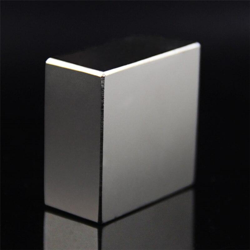 Super Potente Forte Rare Earth Block NdFeB Magnete Al Neodimio N52 Magneti F40x40x20mm