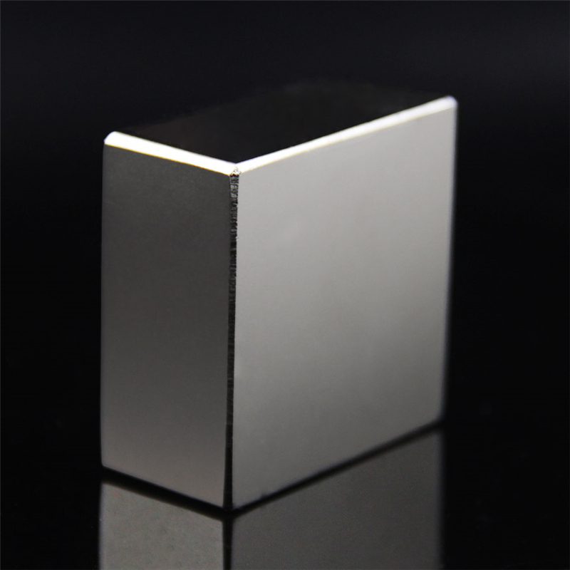Super Powerful Strong Rare Earth Block NdFeB Magnet Neodymium N52 Magnets F40x40x20mm