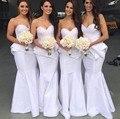 Taffeta Mermaid Bridesmaid Women Long 2016 Wedding Party Dress Vestidos New Arrival