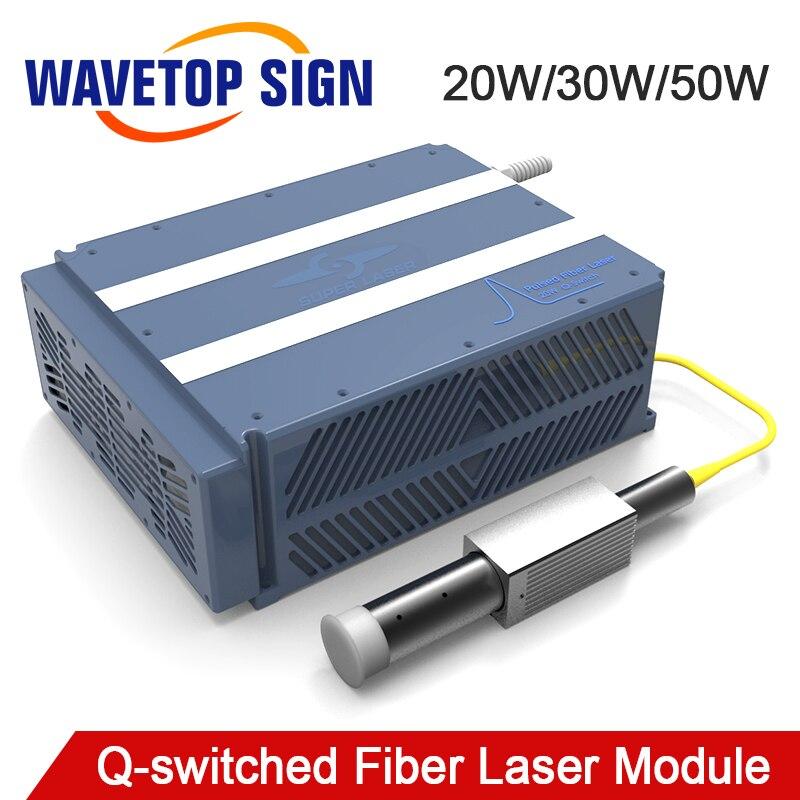 Q-switched Modulo Laser a Fibra 20 W 30 W 50 W 100 w Laser In Fibra di Larghezza di Impulso Regolabile Modulo 20 W MOPA-20W Buon Prezzo di Buona Qualitty