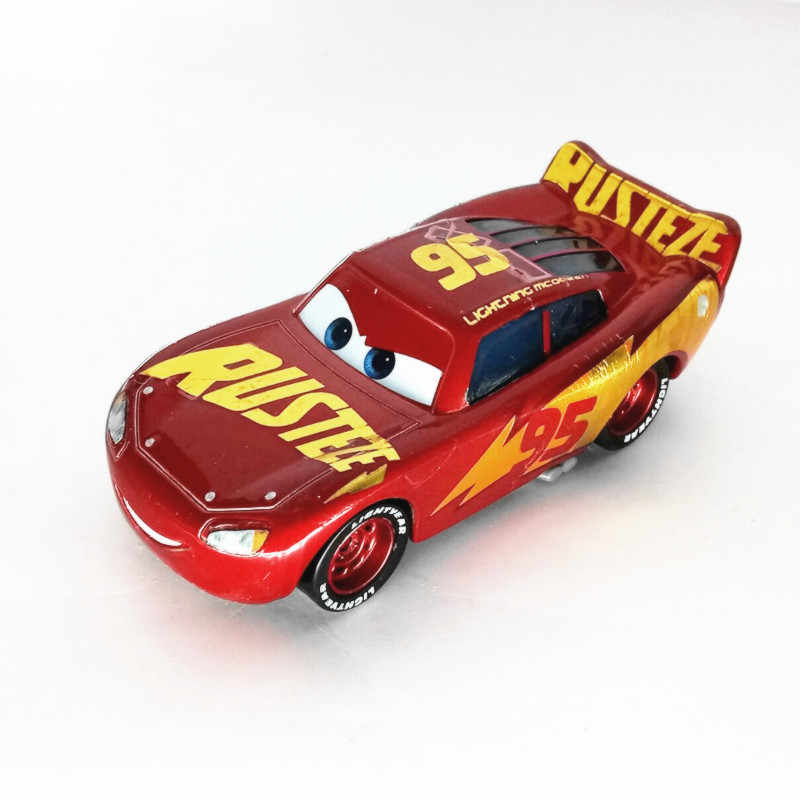 Newdisney Pixar Sedan 3 Mainan Mobil McQueen Jackson Badai 1:55 Die-Cast Logam Paduan Model Mobil Mainan Anak Laki-laki 2 hadiah Natal