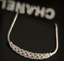 Upscale Luxury Shiny Rhinestone Necklaces For Women