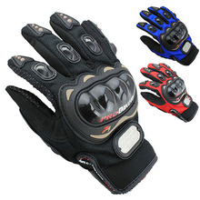 Ski Racing Pro-Biker Motorcycle Motorbike Cycling Full Finger Gloves M/L/XL