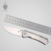 Кизер лучший нож для выживания нож для охоты и кемпинга Ki3490 s35vn лезвие высокого качества ручной инструмент