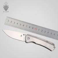Kizer melhor faca de sobrevivência caça faca acampamento s35vn lâmina alta qualidade ferramenta mão ki3490 t1