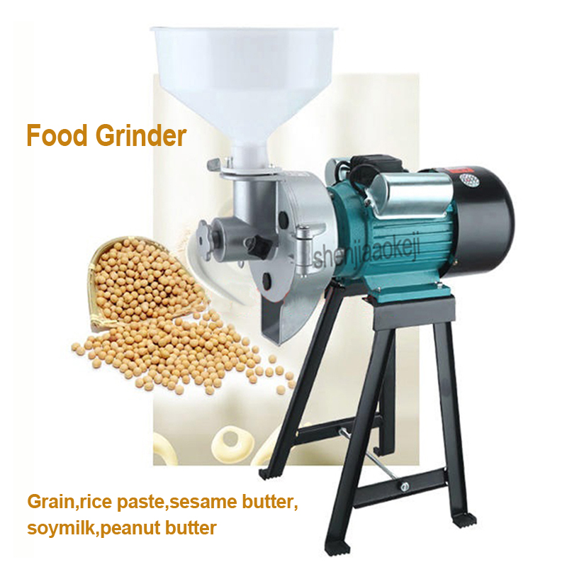 Multi-function Grinding Machine Commercial Soymilk Grinder Home Rice Paste Machine Tofu Beater Wet Use Peanut Butter Machine 1PC