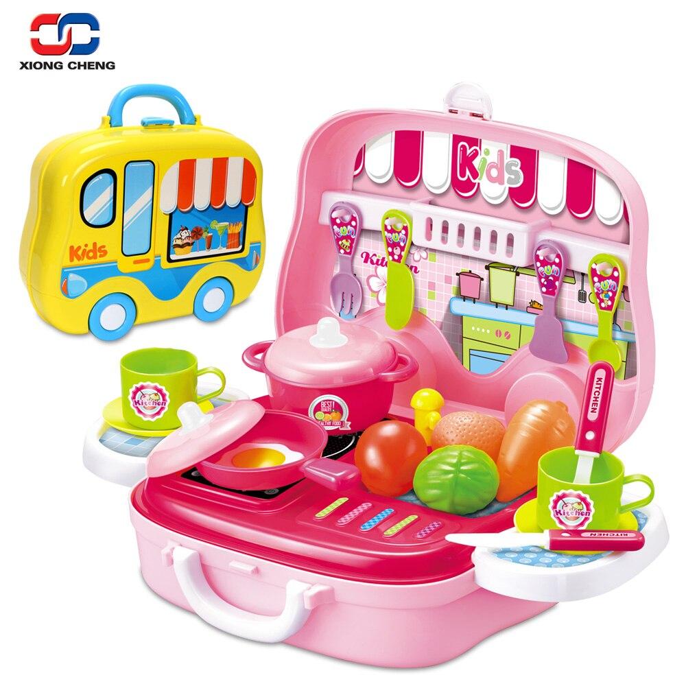 Food Toys For Girls : Children miniature kitchen egg vegetables fruit food