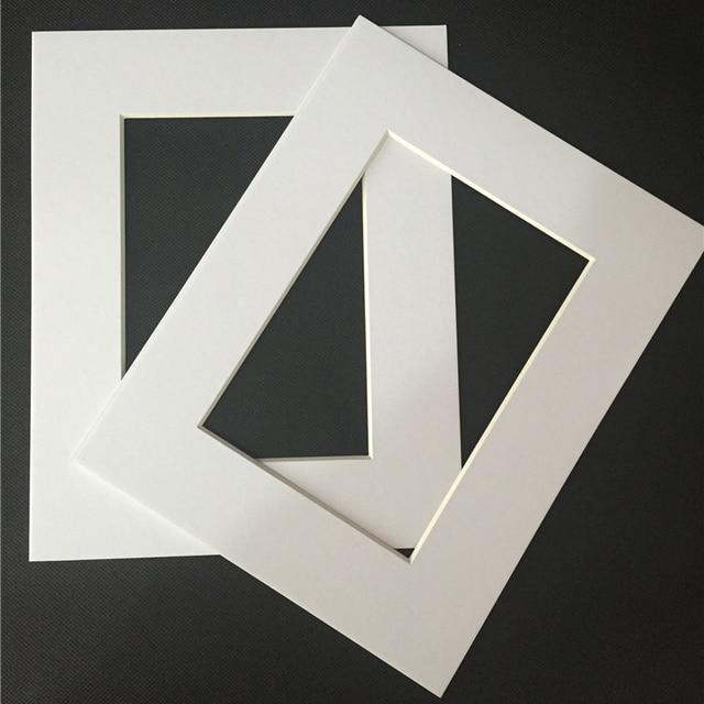 HT Acid Free Cardboard Photo Easel Mats for 5x7\