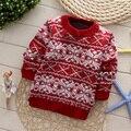 Детская Кашемировые свитера детей осенью и весной пуловеры мальчика и девочки звезды свитер высокое качество
