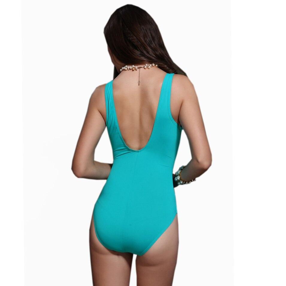 Foclassy mayo qadınlar Bikini 2017 Plus Ölçü Üzmə - İdman geyimləri və aksesuarları - Fotoqrafiya 4