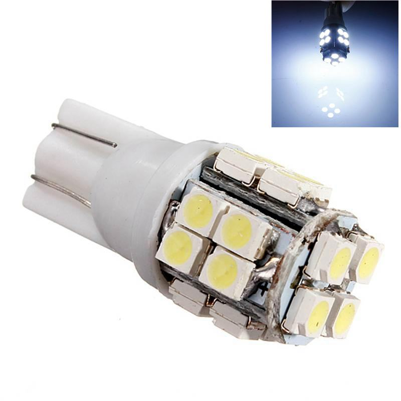 T10 W5W LED 194 168 2825 T10 20SMD 20 LED Bulb For Car License Plate Light Door Light Side Marker Lights Map Turn Signal Lamp