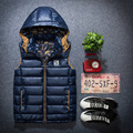 2016 autumn/winter cotton vest male Tide down more cotton vest fashion big yards