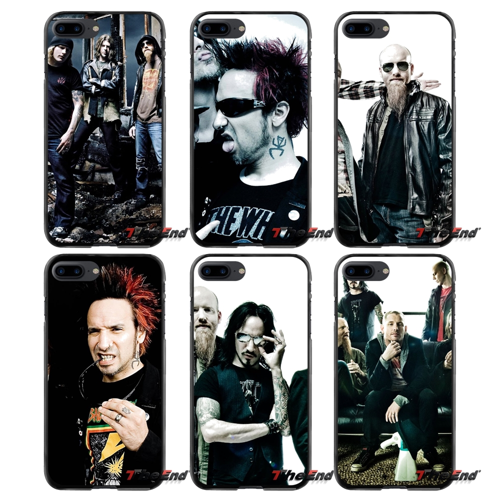 For Apple iPhone 4 4S 5 5S 5C SE 6 6S 7 8 Plus X iPod Touch 4 5 6 Music Stone sour Accessories Phone Cases Covers