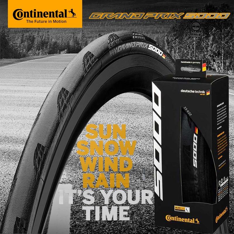 1 pièces Continental Grand Prix 5000 course pneu de vélo de course 700 * 23c/25c/28c pliable pneu de vélo de route pneu pliant ultra-léger