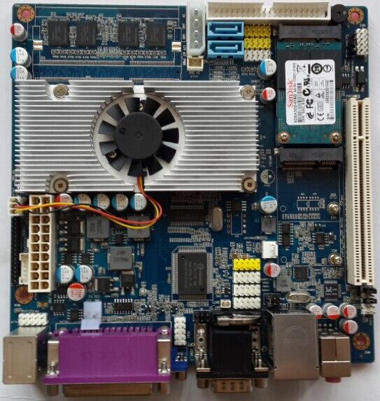Микрокомпьютер для WINDOWS XP, предназначенный для общего рельсового испытательного хоста