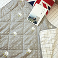 110 *110 Cm Baby Quilt  Nordic Style Sided Cotton Crib Spring  Quilt Filler Bamboo Fiber Breathable Air Conditioning Cool Quilt