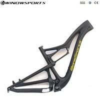 Full Suspension Carbon mtb frame Boost 148*12 full suspension carbon mtb bike frameset size 15.5/17.5/19.5 inch