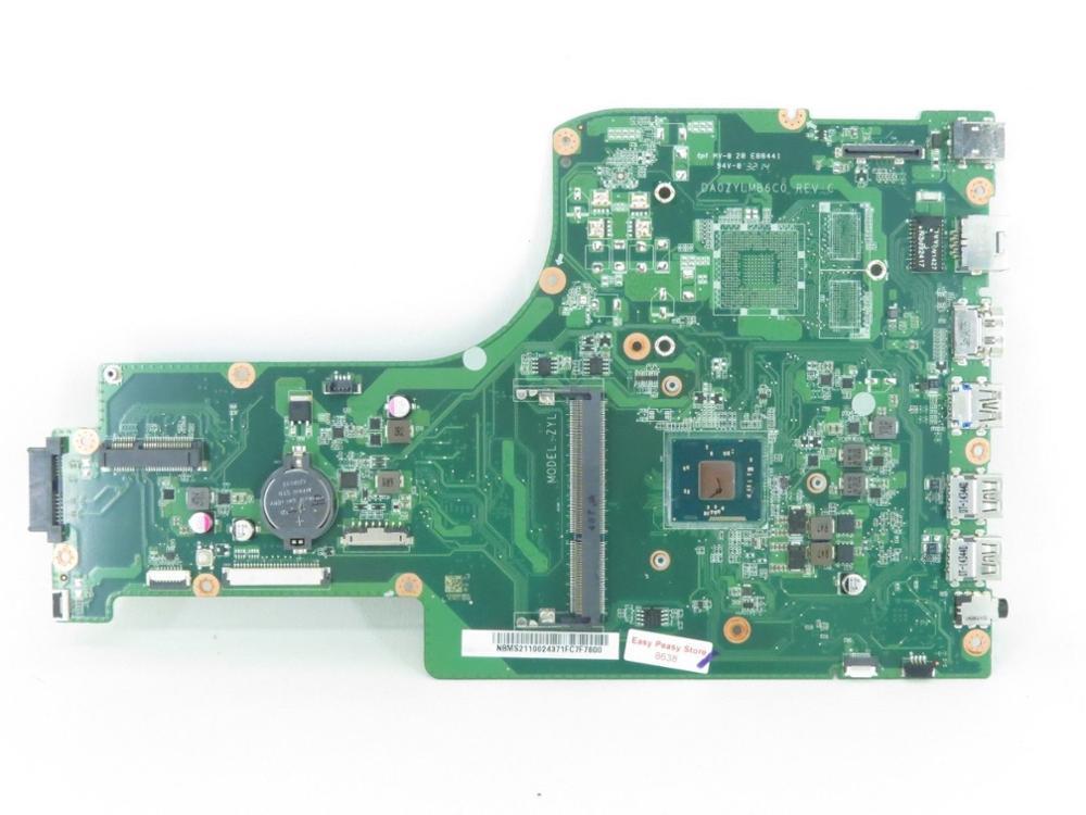 DA0ZYLMB6C0 NB MS211 002 For font b Acer b font aspire ES1 711 Laptop motherboard NBMS211002