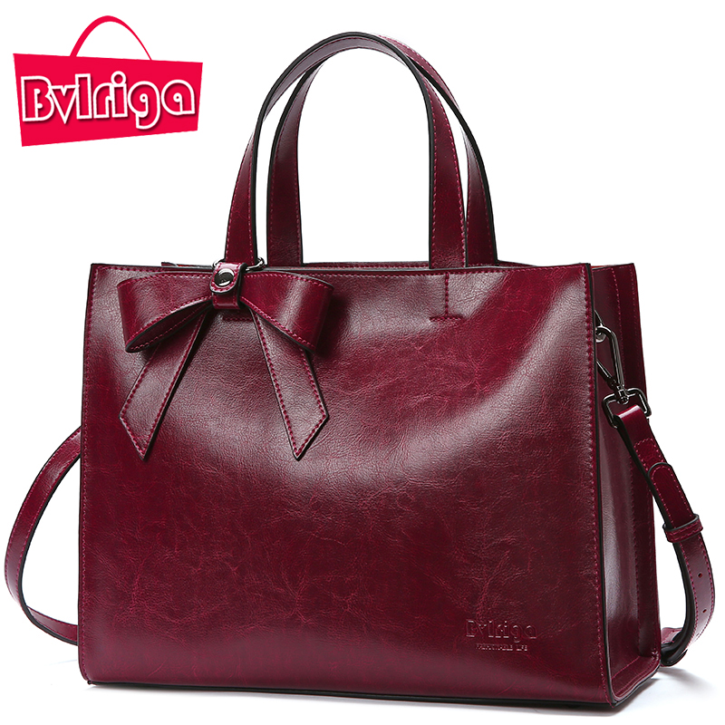 Bvlriga Genuine Leather Bag Female Handbag Women Bag Famous Brand Shoulder Crossbody Bags Women Messenger Bag Tote Bow Tie Big genuine leather bag female handbag women bag famous brand shoulder crossbody bags women messenger bag tote bow tie big blue bags