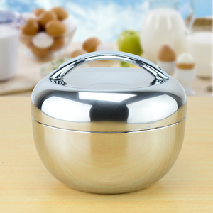 Sanqia 1.3l apple shape thermal insulation stainless steel lunch box Bento food container food storage tiffin box dinnerware set