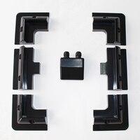 2 Set /Lot Black Color Solar Panel Mounting Bracket Kits Cable Entry Gand Ideal (7 PCS)