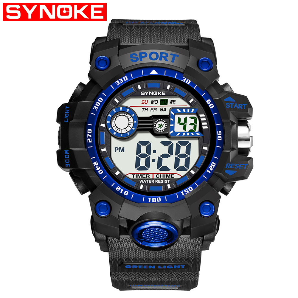 Digital Watches Watches Amicable Synoke Military Sport Mens Watch Brand G Luxury Type Shock Wristwatch Digital Wrist Watches For Male Clock Relogio Masculino Matching In Colour