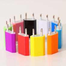 Universal EU Plug Wall USB Charger Power Adapter Travel Charger for iPhone5 6 6s plus 7