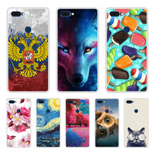 Phone Case for Vernee MIX 2 Soft Silicone TPU Cool Patterned Printed for Vernee MIX 2 Case(China)