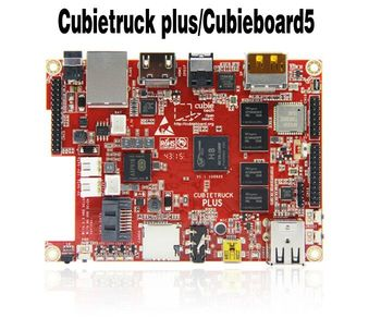 Free Shipping!!! cubieboard5 cubietruck plus  cubieboard 5 H8 Development Board Android  Linux shoulder bag