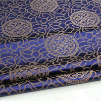 CF151 1Yard 73cm Antique Silk Fabric Chinese Style Brocade Jacquard Fabric For Men Tang Suit Cushion