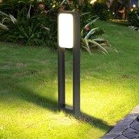 Thrisdar 20 W Acryl Im Freien Garten Rasen Licht 50/70 CM Landschaft Villa Pathway Säule Licht Doppel-seitige beleuchtet Gras Licht